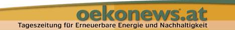 Logo oekonews.at Tageszeitung für Erneuerbare Energie und Nachhaltigkeit