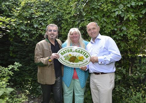 13 333 Natur Im Garten Plakette An Regisseur Kurt Mundl Verliehen