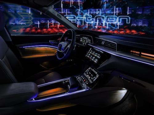 Erster Einblick in das Innenleben des elektrischen Audi E ...