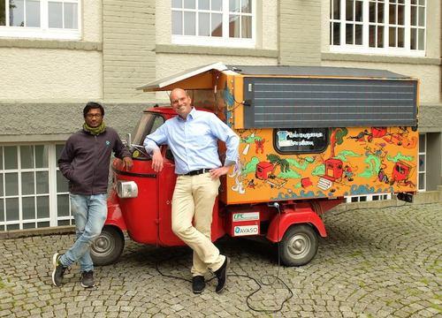 Mit Solarstrom Von Bangalore Nach Trossingen