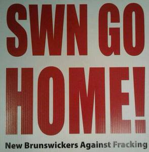 © Ban Hydraulic Fracturing (hydro-fracking) In New Brunswick, Canada