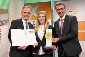 © Land OÖ Kauder/ Die Siegerin Young Energy Researchers Award 2019