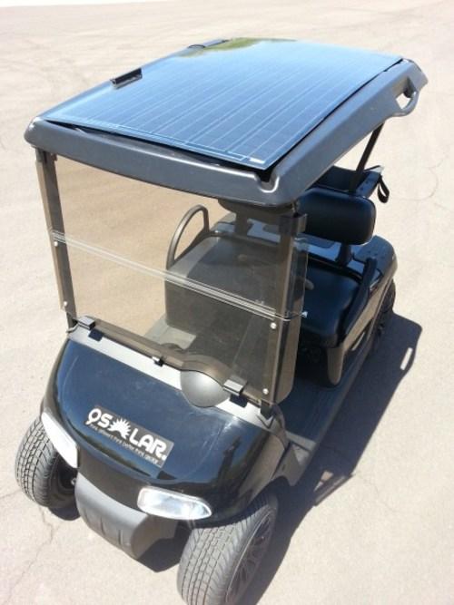 solar nachr st set erm glicht aufladen von golfcars. Black Bedroom Furniture Sets. Home Design Ideas